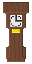 Grandfather clock for the Woodland Indoor tileset. An edited version of the image by jaxad0127.