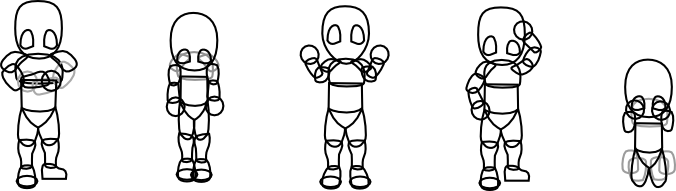 NPC poses vector outline.png